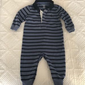 Lightly used Ralph Lauren baby boys one piece. 9m